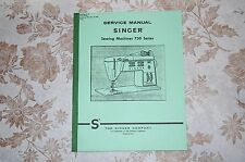 Professional Full Edition Service Manual for Singer 750, 756, 758 Sewing Machine