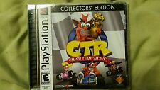 CTR: Crash Team Racing (Sony PlayStation 1, 1999) Collector's Edition