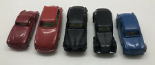 VINTAGE INGAP 1950's PLASTIC CARS 1:87 MADE IN ITALY HO LOT OF 5