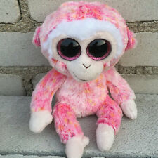 ty beanies boos Monkey Pink Ruby stuffed animal toy no heart tag