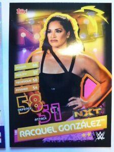 WWE SLAM ATTAX RELOADED NXT RACQUEL GONZALEZ BASE CARD COMB P&P