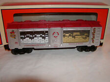 Lionel 6-29699 Christmas Holiday Silver and Gold Mint Car O 027 2014 New
