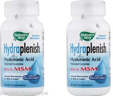 Nature's Way Hydraplenish Plus MSM 60 Vcaps (Paks 0f 2)