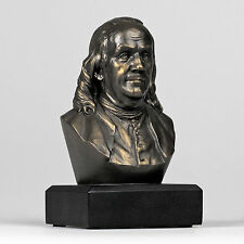 Ben Franklin Bust Sculpture FOUNDING FATHER Figurine Statue - GIFT BOXED