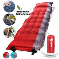 Self Inflating Camping Pad Lightweight Camping Sleeping Pad Inflatable Tent Mat#