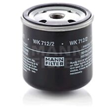 Mann WK712/2 Fuel Filter Spin On 80mm Height 76mm Outer Diameter Service