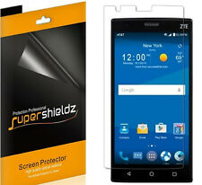 6X Supershieldz HD Clear Screen Protector Shield Saver For ZTE Zmax 2