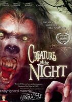 Creature of the Night (DVD, 2007) New,