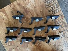 Cabinet Latches, Lot Of 11 Aluminum Black Anodized
