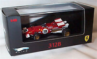 Ferrari 312B No 18 Racing Car Hot Wheels Elite Ltd Editions 1-43 Scale N5588