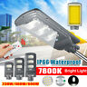 690W 69000LM LED Solar Street Light PIR Motion Sensor Lamp Wall Garden W/ Remote
