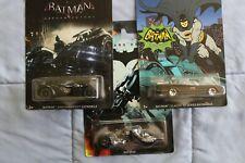 (3)Hot Wheels Batman: Arkham Knight/Dark Knight Batmobile Diecast Car New in Box
