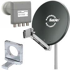 Digitale Sat Anlage Kathrein CAS 90 Grau +ACX 985 für 4  Teilnehmer /Anschlüsse