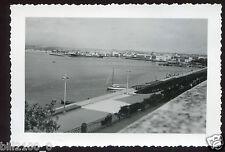 Italie . Syracuse . le port . photo de 1950