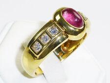 Echte Edelstein-Ringe im Band-Stil mit Diamant für Damen