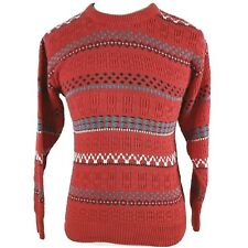 Vintage Jantzen Sweater Pullover Womens Sz S Aztec Tribal Knit Hipster Retro 90s