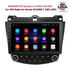 10.1''For 2003-2007 Honda Accord 7 Android 8.1 Car Radio GPS Navigation Player