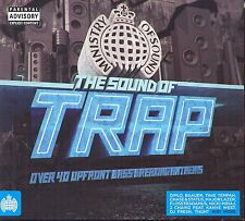 The Sound of Trap     Various Artists      Brand New  CD   Drum & Bass  Rap