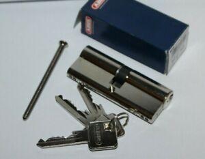 1x ABUS CeniT N NG Profilzylinder 40/40 mm, mit 3 Schlüssel