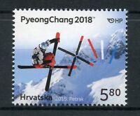 Croatia 2018 MNH Winter Olympics PyeongChang 1v Set Sports Stamps