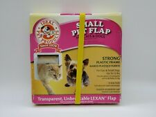 "Ideal Pet Products Small Pet Flap Cat Dog Door 6 1/4"" x 6 1/4"" Flap Size New"