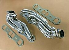 Oldsmobile SMALL BLOCK 304 stainless steel shorty headers 260 307 330 350 403