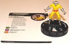Jackhammer 047 Deadpool and X-Force Marvel HeroClix Rare