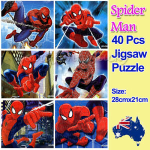 1x Disney Spider-man Drawing 40 Pieces Jigsaw Puzzles Best Gifts for Kids