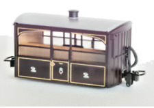"Peco GR-560 - FR ""Bug Box"" coach, Zoo Car, Victorian Livery: OO-9 Gauge - T48"