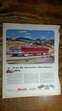 1953 Nash Ambassador Airflyte Styled by Pinin Farina Ad