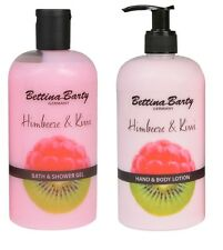 Bettina Barty Himbeere & Kiwi  Bath & Shower Gel & Hand & Bodylotion  Je 500ml