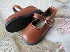 Chaussures / shoes Poupée BJD MSD - Kaye Wiggs ou autres - Chaussures marron