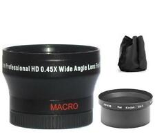 37mm Digital Wide Angle Lens for Kodak EasyShare DX7630 Z760
