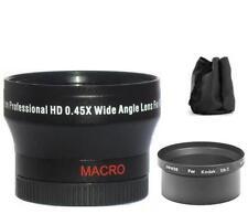 37mm Digital Wide Angle Lens for Kodak EasyShare DX7630 Z760