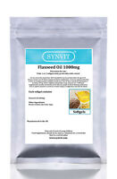 SYNVIT® Flaxseed Oil 1000mg Capsules  Omega 3, 6, 9 FLAX SEED