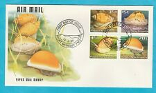 PNG FDC Shells Official First Day Cover 1986