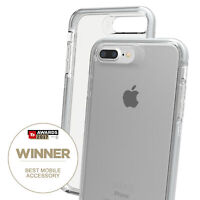 iPhone 7+ / 8+ Case Gear4 Piccadilly Advanced Impact Protection D3O - Silver