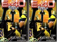 E-40 Element Of Surprise 1998 RARE 2 Cassette Tape Album Set Lot Hiphop Rap E40