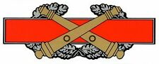 Army Combat Artillery Badge Decal