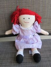 Vintage Madeline Rag doll 1994 With Dress 15� Eden plush stuffed rare