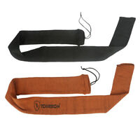 Tourbon 2 Pack Gun Sock Long Rifle Bag Shotgun Sleeve Hunting Anti-rust 2 Colors