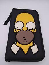 The Simpsons Homer cd dvd holder wallet case 2002 Matt Groening TV show homer