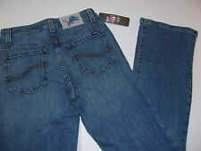 NWT Womens Detroit Lions NFL Team Apparel Blue Embroidered Boot Cut Jeans Size 2