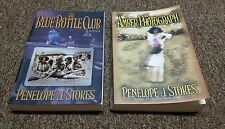 PENELOPE J. STOKES 3 trade size books THE BLUE BOTTLE CLUB, THE AMBER PHOTOGRAPh