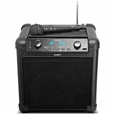 Portable Bluetooth Speaker with Microphone AM FM Radio USB Charge Port Wireless
