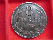 1889 EIGHT DOUBLE COIN FROM GUERNSEY FROM MY COLLECTION [P48]
