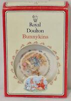 Royal Doulton Bunnykins 2 Piece Christening Set Plate and Mug 1994 Bone China