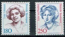 Bund MiNR 1427 + 1428 Freimarken Frauen der Deutschen Geschichte postfrisch **