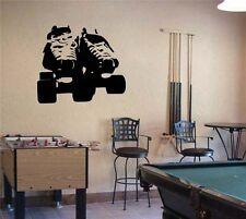 Roller DERBY SKATES Vinyl Wall Sticker Decal 30 in h x 30 in w
