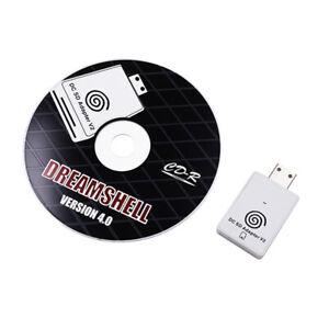 For Sega Dreamcast Dreamshell Loader w/Pocket GD-ROM CD Card Reader Adapter